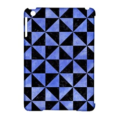 Triangle1 Black Marble & Blue Watercolor Apple Ipad Mini Hardshell Case (compatible With Smart Cover) by trendistuff