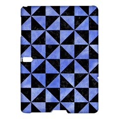 Triangle1 Black Marble & Blue Watercolor Samsung Galaxy Tab S (10 5 ) Hardshell Case  by trendistuff