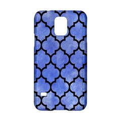 Tile1 Black Marble & Blue Watercolor (r) Samsung Galaxy S5 Hardshell Case