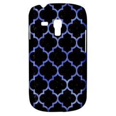 Tile1 Black Marble & Blue Watercolor Samsung Galaxy S3 Mini I8190 Hardshell Case by trendistuff