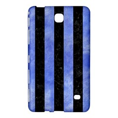 Stripes1 Black Marble & Blue Watercolor Samsung Galaxy Tab 4 (8 ) Hardshell Case  by trendistuff