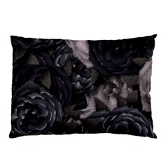 Dark Purple Roses Pillow Case (two Sides)