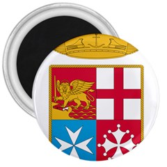 Coat Of Arms Of The Italian Navy  3  Magnets by abbeyz71