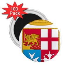 Coat Of Arms Of The Italian Navy  2 25  Magnets (100 Pack)  by abbeyz71