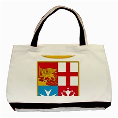 Coat Of Arms Of The Italian Navy  Basic Tote Bag (two Sides) by abbeyz71