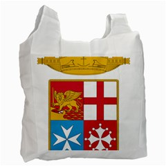 Coat Of Arms Of The Italian Navy  Recycle Bag (two Side)  by abbeyz71