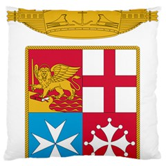 Coat Of Arms Of The Italian Navy  Standard Flano Cushion Case (two Sides) by abbeyz71