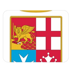 Coat Of Arms Of The Italian Navy  Double Sided Flano Blanket (large)  by abbeyz71