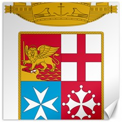 Coat Of Arms Of The Italian Navy Canvas 16  X 16   by abbeyz71