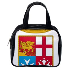 Coat Of Arms Of The Italian Navy Classic Handbags (one Side)