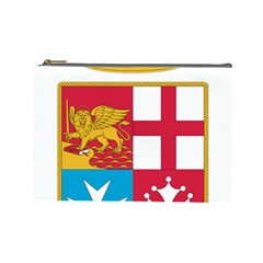 Coat Of Arms Of The Italian Navy Cosmetic Bag (large)  by abbeyz71