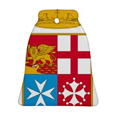 Coat Of Arms Of The Italian Navy Bell Ornament (two Sides) by abbeyz71