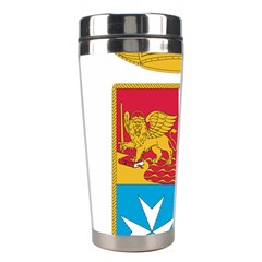 Coat Of Arms Of The Italian Navy Stainless Steel Travel Tumblers by abbeyz71