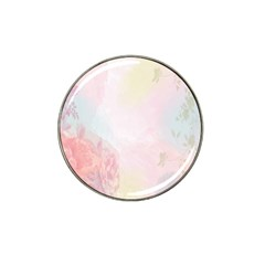 Watercolor Floral Hat Clip Ball Marker