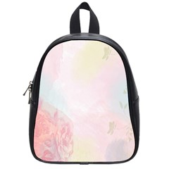 Watercolor Floral School Bags (small)  by Nexatart