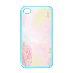 Watercolor Floral Apple Iphone 4 Case (color) by Nexatart
