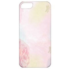Watercolor Floral Apple Iphone 5 Classic Hardshell Case