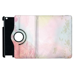 Watercolor Floral Apple Ipad 2 Flip 360 Case by Nexatart