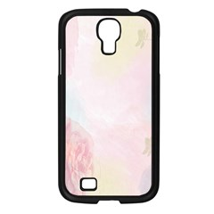 Watercolor Floral Samsung Galaxy S4 I9500/ I9505 Case (black) by Nexatart