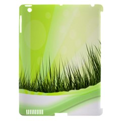 Green Background Wallpaper Texture Apple Ipad 3/4 Hardshell Case (compatible With Smart Cover) by Nexatart