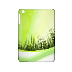 Green Background Wallpaper Texture Ipad Mini 2 Hardshell Cases by Nexatart