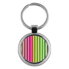 Vertical Blinds A Completely Seamless Tile Able Background Key Chains (round)  by Nexatart