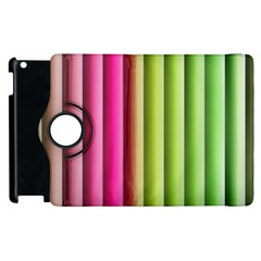 Vertical Blinds A Completely Seamless Tile Able Background Apple Ipad 3/4 Flip 360 Case by Nexatart