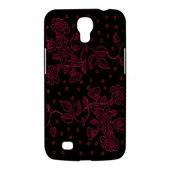 Pink Floral Pattern Background Samsung Galaxy Mega 6 3  I9200 Hardshell Case by Nexatart