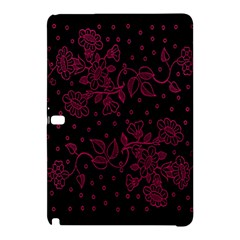 Pink Floral Pattern Background Samsung Galaxy Tab Pro 10 1 Hardshell Case by Nexatart