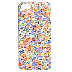 Lovely Floral 31d Apple Iphone 5 Hardshell Case With Stand by MoreColorsinLife