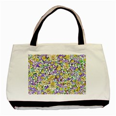 Lovely Floral 31e Basic Tote Bag by MoreColorsinLife