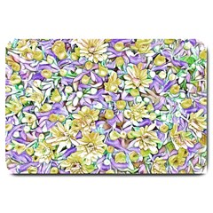 Lovely Floral 31e Large Doormat  by MoreColorsinLife