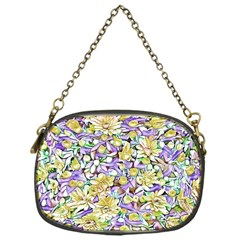 Lovely Floral 31e Chain Purses (one Side)  by MoreColorsinLife