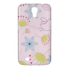 Pretty Summer Garden Floral Bird Pink Seamless Pattern Samsung Galaxy Mega 6 3  I9200 Hardshell Case by Nexatart