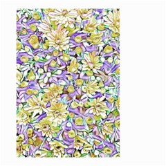 Lovely Floral 31e Small Garden Flag (two Sides) by MoreColorsinLife