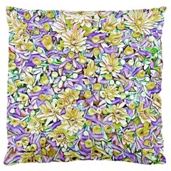 Lovely Floral 31e Standard Flano Cushion Case (two Sides) by MoreColorsinLife