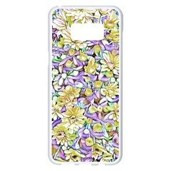 Lovely Floral 31e Samsung Galaxy S8 Plus White Seamless Case by MoreColorsinLife