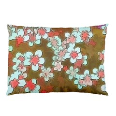 Lovely Floral 29 A Pillow Case (two Sides) by MoreColorsinLife