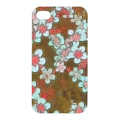 Lovely Floral 29 A Apple Iphone 4/4s Hardshell Case by MoreColorsinLife