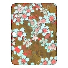 Lovely Floral 29 A Samsung Galaxy Tab 3 (10 1 ) P5200 Hardshell Case  by MoreColorsinLife