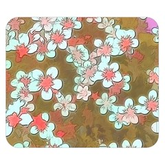 Lovely Floral 29 A Double Sided Flano Blanket (small)  by MoreColorsinLife