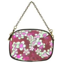 Lovely Floral 29 B Chain Purses (one Side)  by MoreColorsinLife