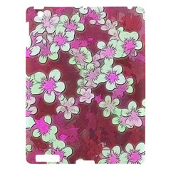 Lovely Floral 29 B Apple Ipad 3/4 Hardshell Case by MoreColorsinLife