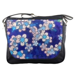 Lovely Floral 29 C Messenger Bags by MoreColorsinLife