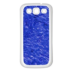 Thick Wet Paint A Samsung Galaxy S3 Back Case (white) by MoreColorsinLife