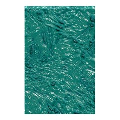 Thick Wet Paint B Shower Curtain 48  X 72  (small)  by MoreColorsinLife