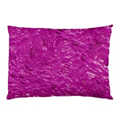 Thick Wet Paint C Pillow Case by MoreColorsinLife