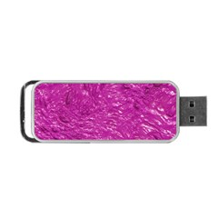 Thick Wet Paint C Portable Usb Flash (one Side) by MoreColorsinLife