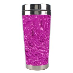 Thick Wet Paint C Stainless Steel Travel Tumblers by MoreColorsinLife