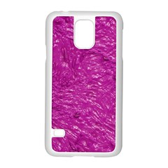 Thick Wet Paint C Samsung Galaxy S5 Case (white) by MoreColorsinLife